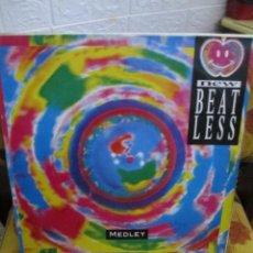 Discos de vinilo: NEW BEAT LESS – MEDLEY. Lote 218830442