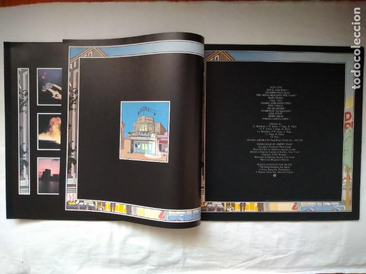 Discos de vinilo: DOBLE LP THE SOUNDTRACK FROM THE FILM LED- ZEPPELIN. THE SONG REMAINS THE SAME. SS 89 402, 1976 WEA - Foto 4 - 218831512