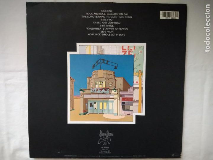 Discos de vinilo: DOBLE LP THE SOUNDTRACK FROM THE FILM LED- ZEPPELIN. THE SONG REMAINS THE SAME. SS 89 402, 1976 WEA - Foto 5 - 218831512