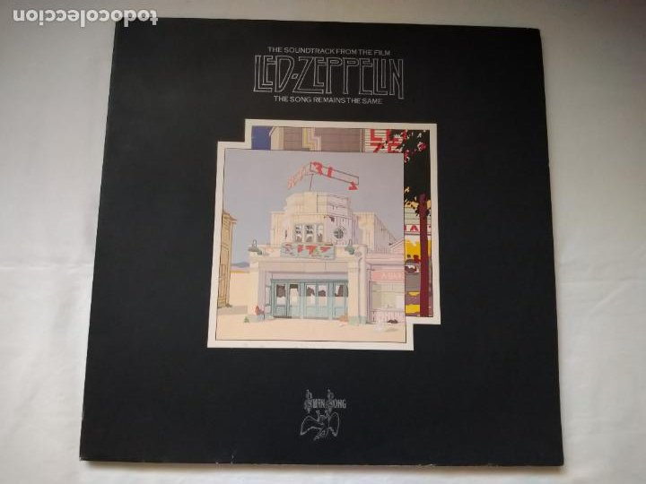 DOBLE LP THE SOUNDTRACK FROM THE FILM LED- ZEPPELIN. THE SONG REMAINS THE SAME. SS 89 402, 1976 WEA (Música - Discos - LP Vinilo - Heavy - Metal)