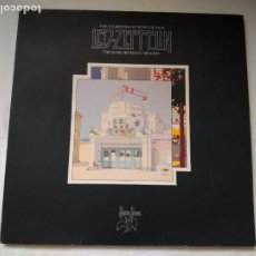 Discos de vinilo: DOBLE LP THE SOUNDTRACK FROM THE FILM LED- ZEPPELIN. THE SONG REMAINS THE SAME. SS 89 402, 1976 WEA. Lote 218831512