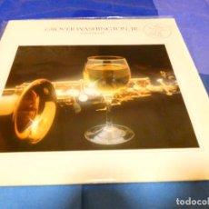 Discos de vinilo: CAJJ 81 LP FUNK SOUL GROOVER WASHINGTON JR WINELIGHT USA 1983 BUEN ESTADO. Lote 218833106