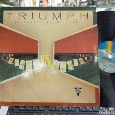 Discos de vinilo: TRIUMPH LP THE SPORT OF KINGS ALEMANIA 1986. Lote 218833647