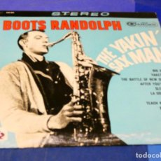 Discos de vinilo: CAJJ 81 LP FUNK SOUL USA 1964 BOOTS RANDOLPH THE YAKING SAX MAN BUEN ESTADO. Lote 218833671