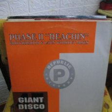 Discos de vinilo: PHASE II ?– REACHIN' / IT'S A MYSTERY. Lote 218833715