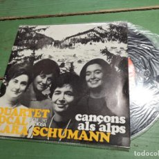 Discos de vinilo: QUARTET VOCAL CLARA SCHUMANN - CANÇONS ALS ALPS - EDIGSA 1966..CATALAN. Lote 218834071