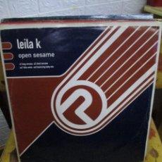 Discos de vinilo: LEILA K ?– OPEN SESAME. Lote 218834603
