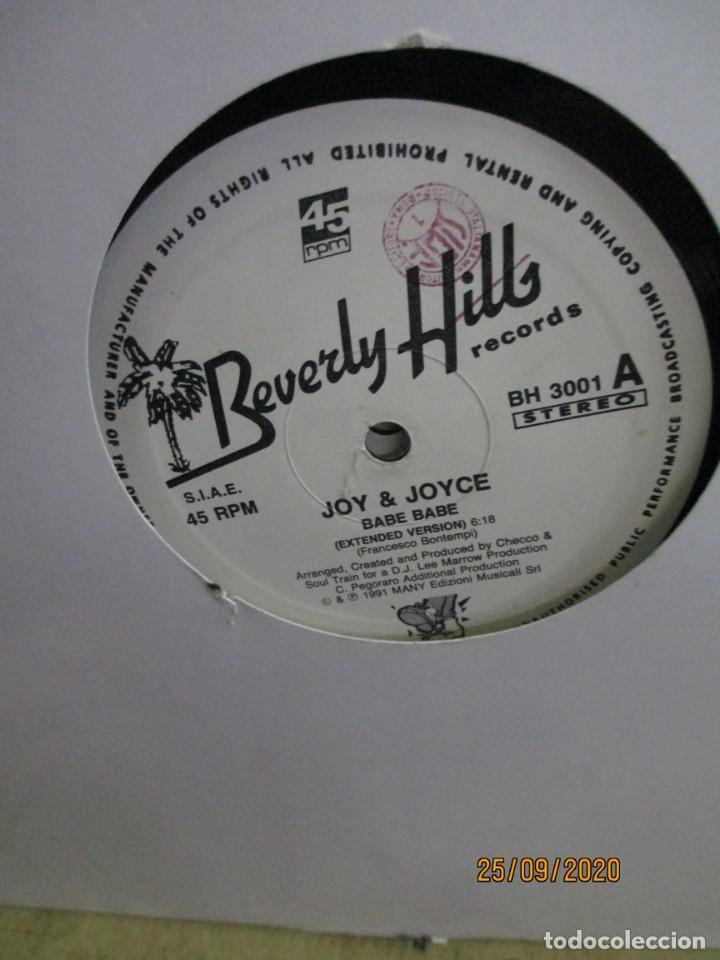 JOY & JOYCE ?– BABE BABE (Música - Discos de Vinilo - Maxi Singles - Techno, Trance y House)