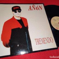 Discos de vinilo: AÑON TREMENDO LP 1992 EMI SYNTH TECNO POP. Lote 218834927