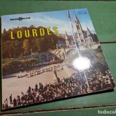 Discos de vinilo: LIBRO DISCO LOURDES 1958 PHILIPS E1E 9138. Lote 218834967
