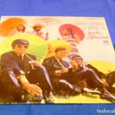 Discos de vinilo: CAJJ 81 LP FUNK SOUL USA CIRCA 1978 SERGIO MENDES AND BRASIL 66 LOOK ARROUND VINILO OK FIRMA ATRAS. Lote 218835031