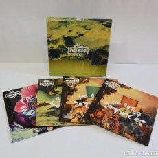 Discos de vinilo: OASIS - DO NOT BELIEVE THE TRUTH 4 X 7'' BOX SET. Lote 218835268