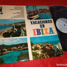Discos de vinilo: VACACIONES EN IBIZA LP 1970 DIABLOS+BELAK+DON DIEGO+RAFALEON+JAVALOYAS+JOSE GUARDIOLA+80 CENTAVOS. Lote 218835613