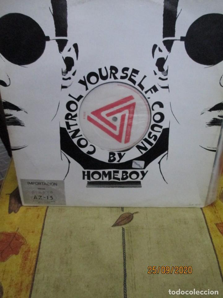 HOMEBOY ?– CONTROL YOURSELF COUSIN (Música - Discos de Vinilo - Maxi Singles - Techno, Trance y House)