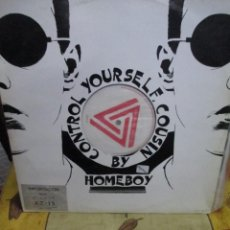 Discos de vinilo: HOMEBOY ?– CONTROL YOURSELF COUSIN. Lote 218835710