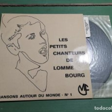Discos de vinilo: LES PETITS CHANTEURS DE LOMME BOURG--N1--CAS 72178--LITURGIA. Lote 218835796