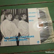 Discos de vinilo: LES PETITS CHANTEURS DE LOMME BOURG----AS 72177--LITURGIA. Lote 218835871