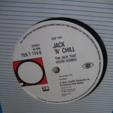 Discos de vinilo: JACK 'N' CHILL ?– THE JACK THAT HOUSE BUILT. Lote 218836953