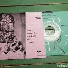 Discos de vinilo: LOS PEQUEÑOS CANTORES DE VIENA --VILLANCICOS ALEMANES VERGARA 55.2.002 C. Lote 218837651