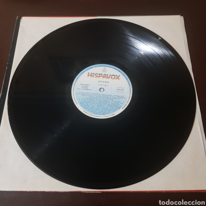 Discos de vinilo: ADAMO - CANTARE 1990 - Foto 2 - 218837856