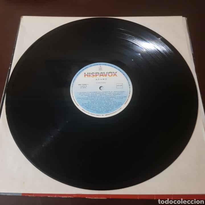 Discos de vinilo: ADAMO - CANTARE 1990 - Foto 3 - 218837856