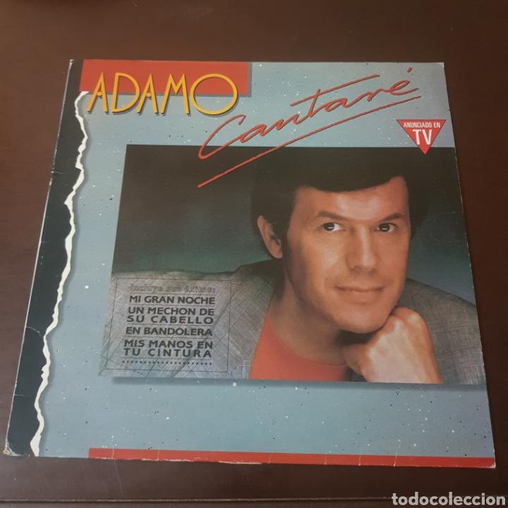 ADAMO - CANTARE 1990 (Música - Discos - LP Vinilo - Canción Francesa e Italiana)