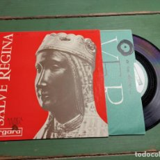 Discos de vinilo: SALVE REGINA MONTSERRAT MUSICA SACRA. Lote 218838093