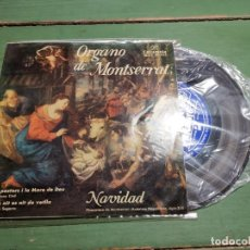 Discos de vinilo: ORGANO MONSERRAT ---NAVIDAD COLUMBIA SCGE 80486. Lote 218838203