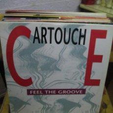 Discos de vinilo: CARTOUCHE ?– FEEL THE GROOVE. Lote 218839017
