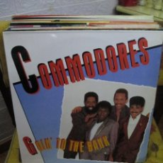 Discos de vinilo: COMMODORES ?– GOIN' TO THE BANK. Lote 218839096