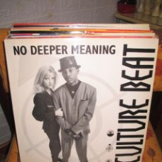 Discos de vinilo: CULTURE BEAT FEATURING LANA E. AND JAY SUPREME ?– NO DEEPER MEANING. Lote 218839490