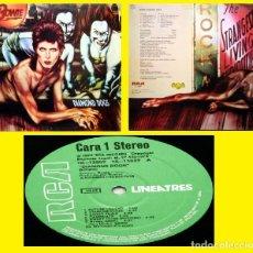 Discos de vinilo: DAVID BOWIE - DIAMOND DOGS 1974, RARA EDIT ESPAÑOLA RCA – NL-13889, EXC. Lote 218839826