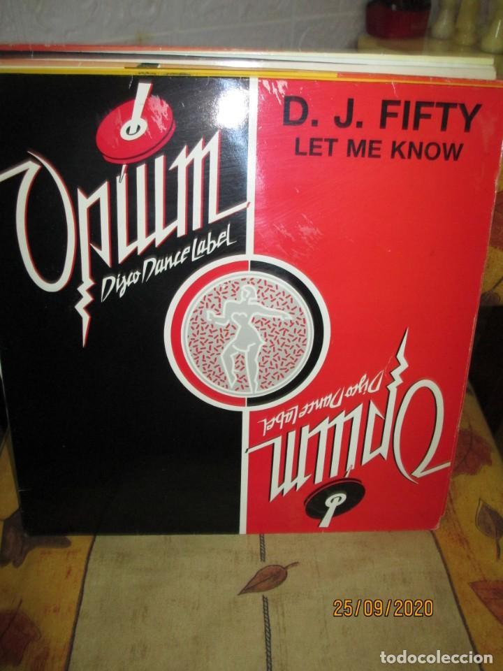 DEE JAY FIFTY* ?– INTO THE GROOVE (A-THON) RAP (Música - Discos de Vinilo - Maxi Singles - Techno, Trance y House)