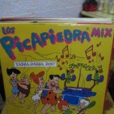 Discos de vinilo: LOS PICAPIEDRA MIX. Lote 218841520