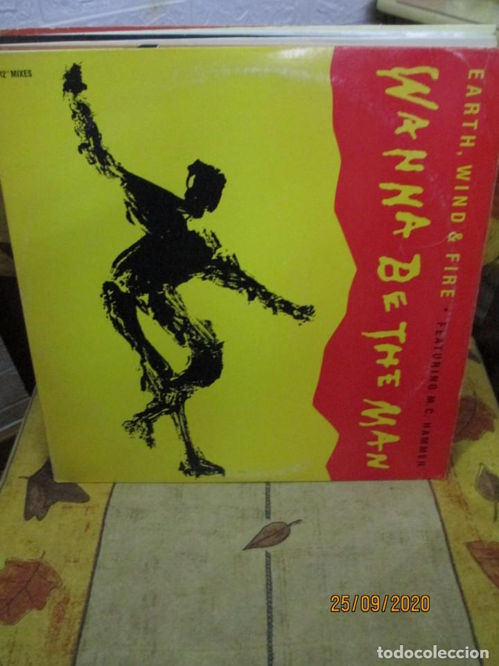 EARTH, WIND & FIRE FEATURING M.C. HAMMER* ?– WANNA BE THE MA (Música - Discos de Vinilo - Maxi Singles - Techno, Trance y House)