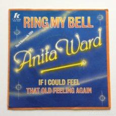 Discos de vinilo: ANITA WARD – RING MY BELL EUROPE 1979 T.K. RECORDS. Lote 218843118