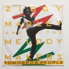 Discos de vinilo: ZIGGY MARLEY AND THE MELODY MAKERS – TOMORROW PEOPLE GERMANY 1988 VIRGIN. Lote 218843391