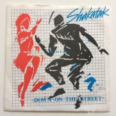 Disques de vinyle: SHAKATAK – DOWN ON THE STREET UK 1984 POLYDOR. Lote 218844071