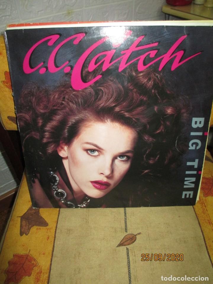 C.C. CATCH ?– BIG TIME (Música - Discos de Vinilo - Maxi Singles - Techno, Trance y House)