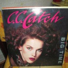 Discos de vinilo: C.C. CATCH ?– BIG TIME. Lote 218845400