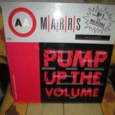 Discos de vinilo: M A R R S ?– PUMP UP THE VOLUME. Lote 236430565