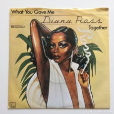 Discos de vinilo: DIANA ROSS – WHAT YOU GAVE ME GERMANY 1978 MOTOWN. Lote 218847066