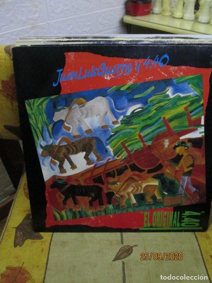 JUAN LUIS GUERRA Y 4.40* ?– EL ORIGINAL 4.40 (Música - Discos - LP Vinilo - Grupos y Solistas de latinoamérica)