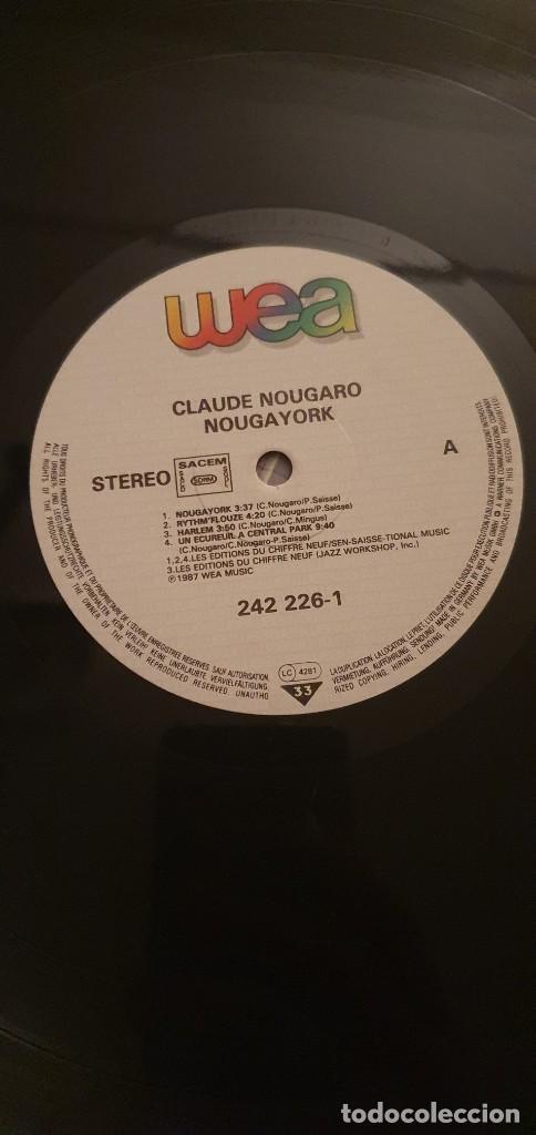Discos de vinilo: Claude Nougaro – Nougayork Sello: WEA – 242 226-1 Formato: Vinyl, LP, Album, Gatefold País: France - Foto 4 - 218849301