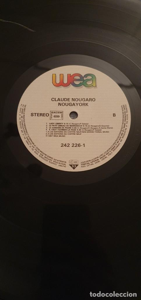 Discos de vinilo: Claude Nougaro – Nougayork Sello: WEA – 242 226-1 Formato: Vinyl, LP, Album, Gatefold País: France - Foto 5 - 218849301
