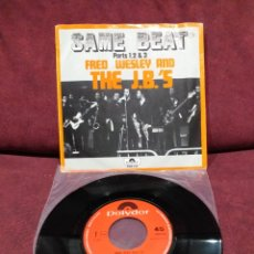 "Discos de vinilo: FRED WESLEY AND THE J.B.'S - SAME BEAT, SINGLE 7"", EDICIÓN HOLANDESA 1974. Lote 218849693"