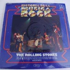 Discos de vinilo: THE ROLLING STONES-LP HISTORIA DE LA MUSICA ROCK Nº 1. Lote 218850135