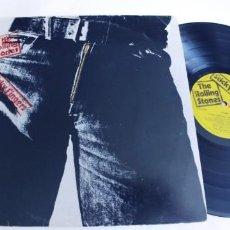 Discos de vinilo: THE ROLLING STONES-LP STICKY FINGERS-ESPAÑOL 1979-ENCARTE.. Lote 218850352