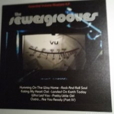 Dischi in vinile: SEWERGROOVES. ESSENTIAL VOLUME MASTERS E.P. 2014. GHOST HIGHWAY GARAGE HARD ROCK. Lote 218850867