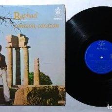 Discos de vinilo: RAPHAEL CORAZON CORAZON LP IMPORTADO DE COLECCION. Lote 218851212